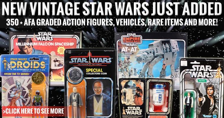Over 350+ Vintage Star Wars added!