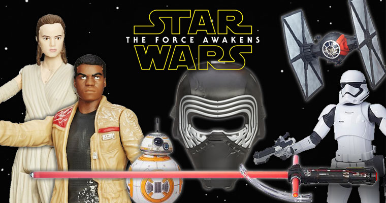 The Force Awakens! Order Now.