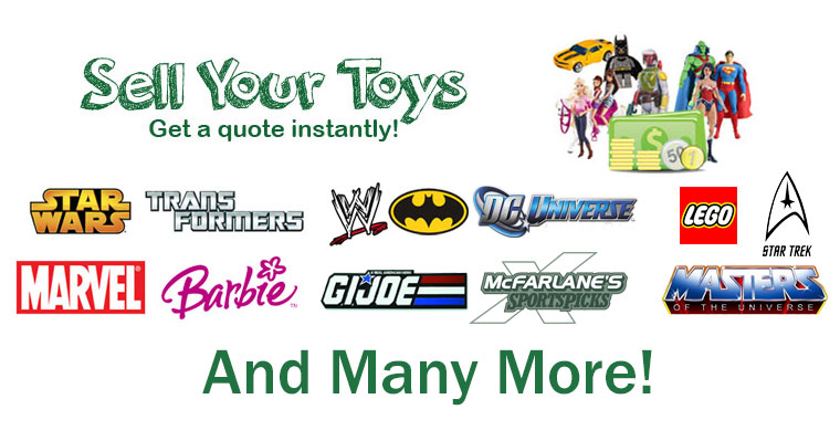 Turn your toys into cash!
